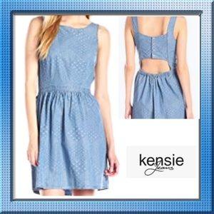 NWT! Denim Cotton Summer Dress
